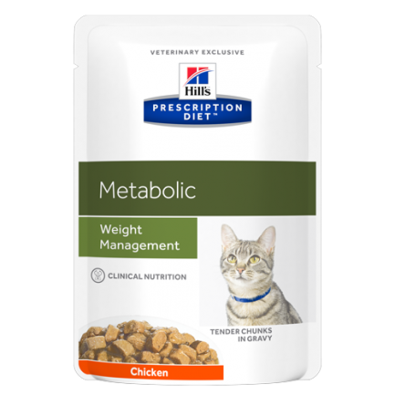 Hill's Prescription Diet Metabolic Feline in Bustina