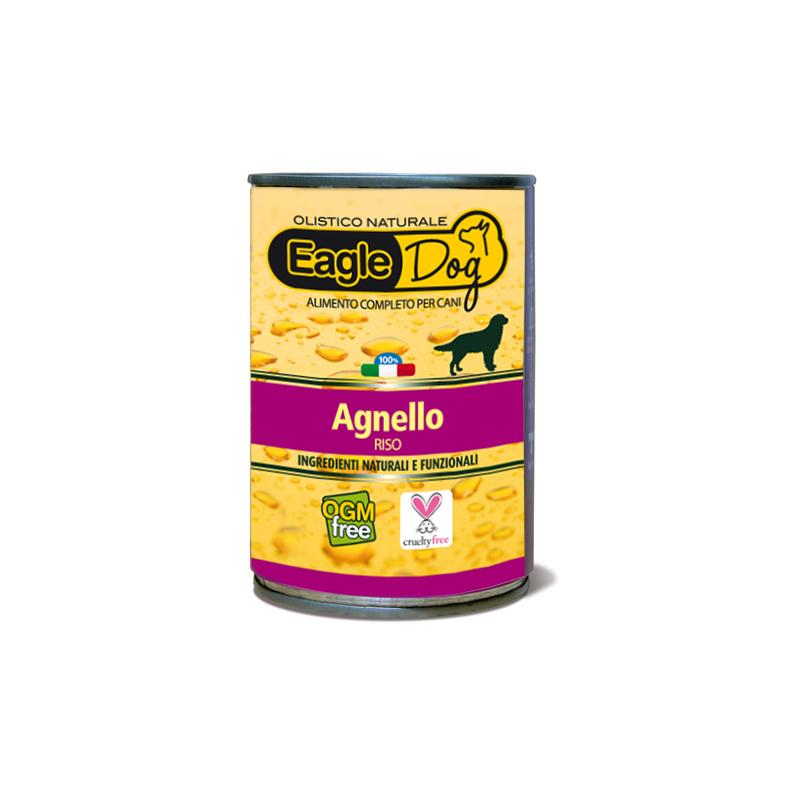 EagleDog Agnello e Riso Cibo Umido per Cani