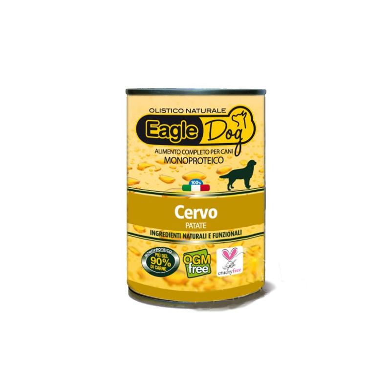 EagleDog Cervo e Patate Cibo Umido per Cani