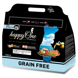 HappyOne Mediterraneum GRAIN FREE Adult Sterilized per Gatti