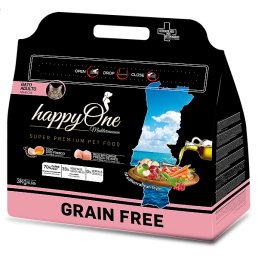 HappyOne Mediterraneum GRAIN FREE Adult per Gatti