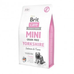 Brit Care Mini Grain Free con Salmone e Tonno per Yorkshire