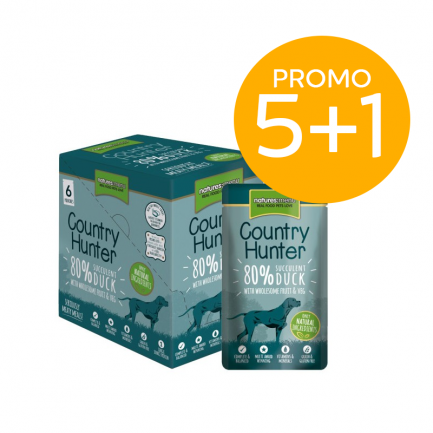 Natures Menu Country Hunter con Anatra Cibo Umido per Cani