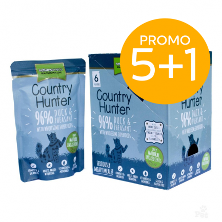 Natures Menu Country Hunter Anatra e Fagiano Cibo Umido per Gatti