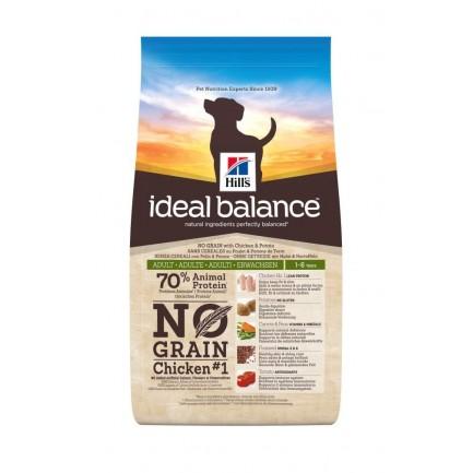 Hill's Ideal Balance NO GRAIN Adult LARGE BREED per Cani con Pollo e Patate