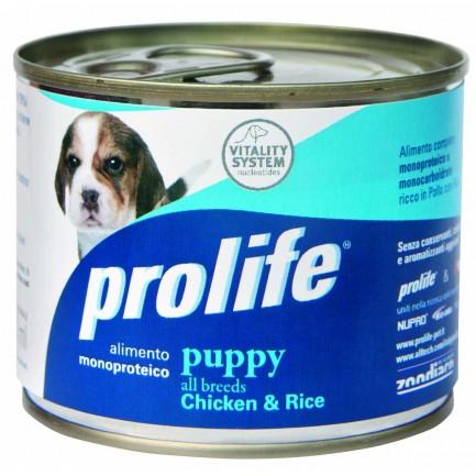 Prolife Puppy Pollo e Riso Umido per Cani