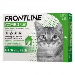 Frontline Combo Spot On per Gatti