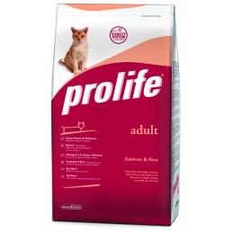 Prolife Adult Cat con Salmone e Riso per Gatti