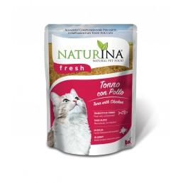 Naturina Fresh Pouches Cibo Umido per Gatti