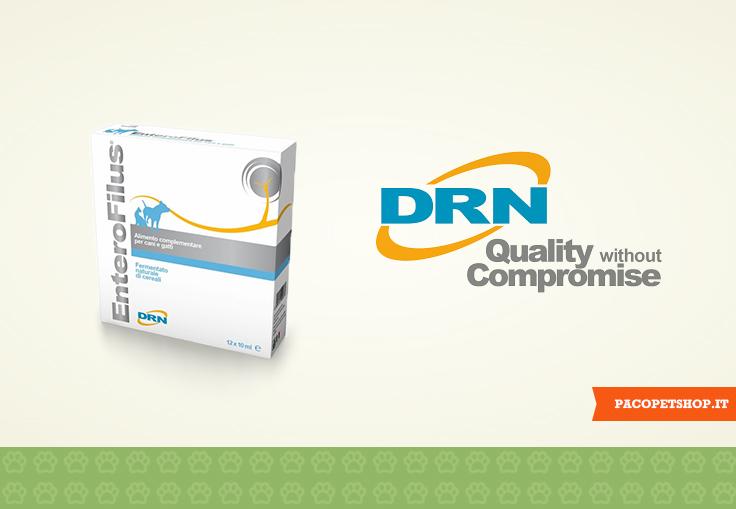 DRN, produce alimenti e integratori per cani e gatti
