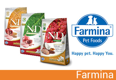 Farmina, cibo per cani e gatti