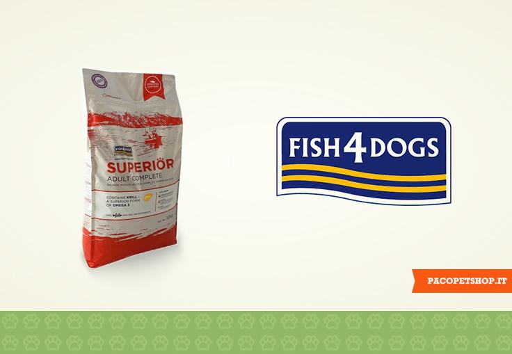 Fish4Dogs, crocchette di pesce di prima qualità per il tuo cane