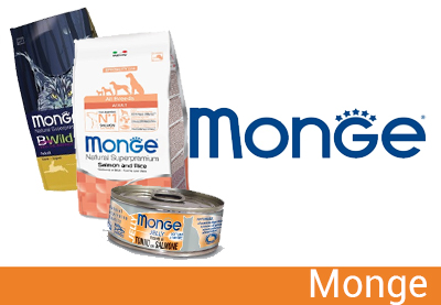 scopri tutti i prodotti monge su paco pet shop