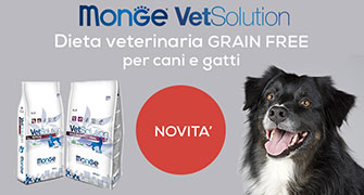 Scopri le diete veterinarie GRAIN FREE Monge Vet Solution