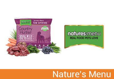 Natures Menu alimenti naturali per cani e gatti