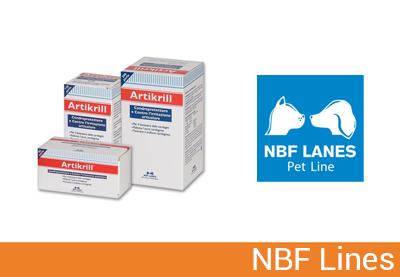 Nbf Lanes, cibo per cani e gatti, specializzazione in diete veterinarie