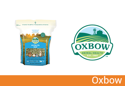 Oxbow, fieno e numerosi prodotti alimentari per piccoli animali