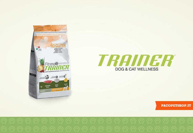 Trainer Fitness 3, alimenti monoproteici per cani
