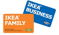 Con le carte Ikea Family ed Ikea Business hai un'ulteriore sconto